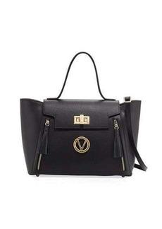 Valentino By Mario Valentino Camilla Dollaro Leather Satchel Bag
