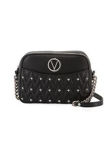 Valentino By Mario Valentino Capucined Sauvage Studded Crossbody Bag