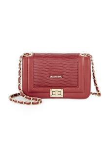 Valentino by Mario Valentino Chain Leather Shoulder Bag