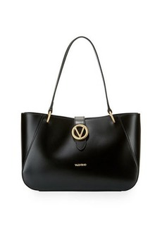 Valentino By Mario Valentino Charlotte Soave Leather Shoulder Tote Bag