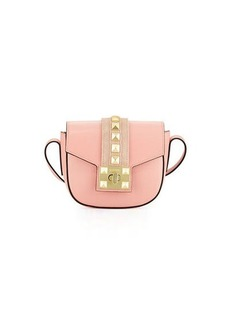 Valentino By Mario Valentino Claudine Leather Flap Crossbody Bag