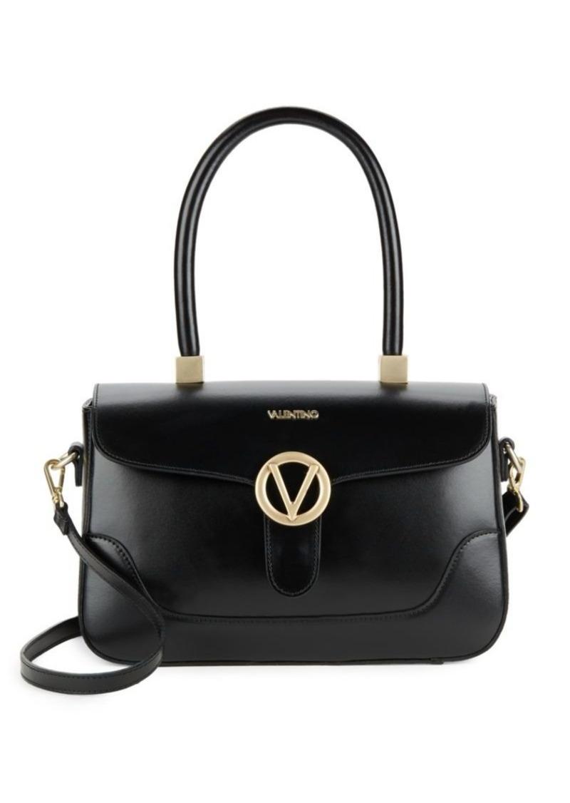 Gaele Leather Handbag Valentino By Mario