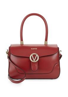 Valentino by Mario Valentino Gaele Leather Satchel