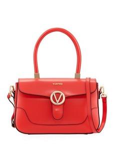 Valentino By Mario Valentino Gaele Smooth Leather Satchel Bag