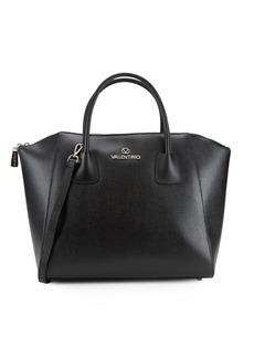 Valentino by Mario Valentino Gigi Solid Leather Tote