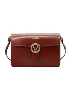 Valentino By Mario Valentino Jade Flap Soave Leather Shoulder Bag