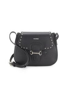 Valentino by Mario Valentino Juliette Dollaro Leather Saddle Bag