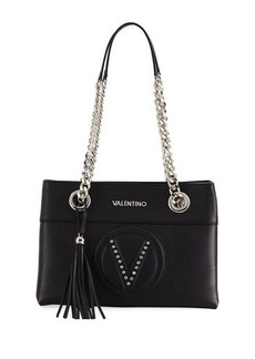 Valentino By Mario Valentino Kali Sauvage Two-Tone Shoulder Bag