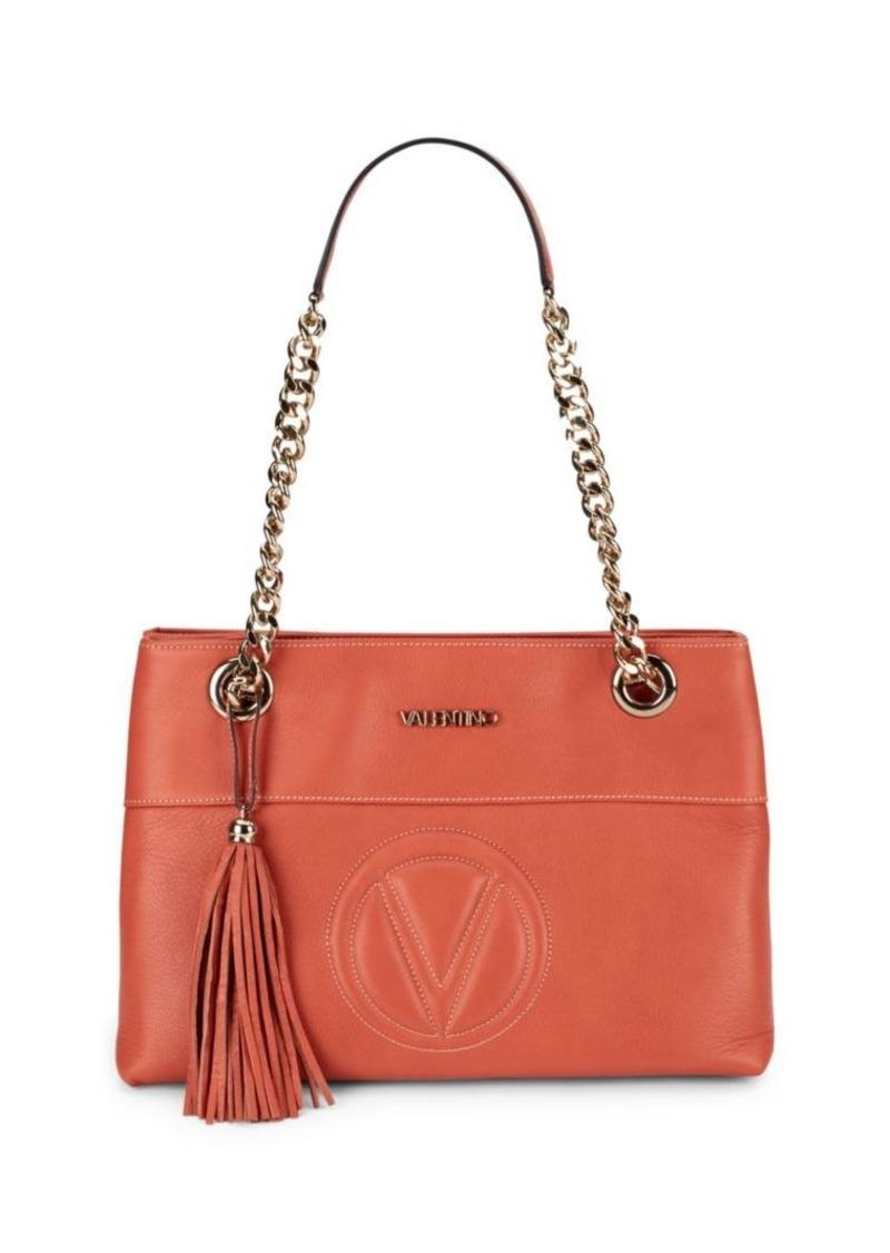 Valentino by Mario Valentino Karina Chain Strap Leather Handbag