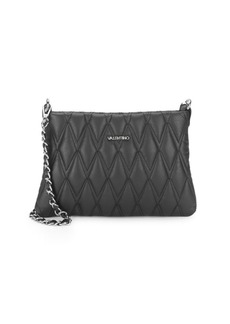 Valentino by Mario Valentino Leather Convertible Clutch