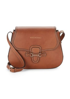 Valentino by Mario Valentino Lucy Leather Crossbody Satchel