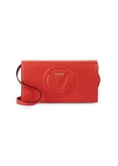 Valentino by Mario Valentino Lena Convertible Leather Clutch