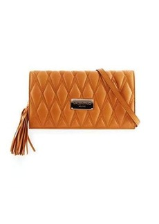 Valentino By Mario Valentino Lena D Quilted Leather Clutch Bag