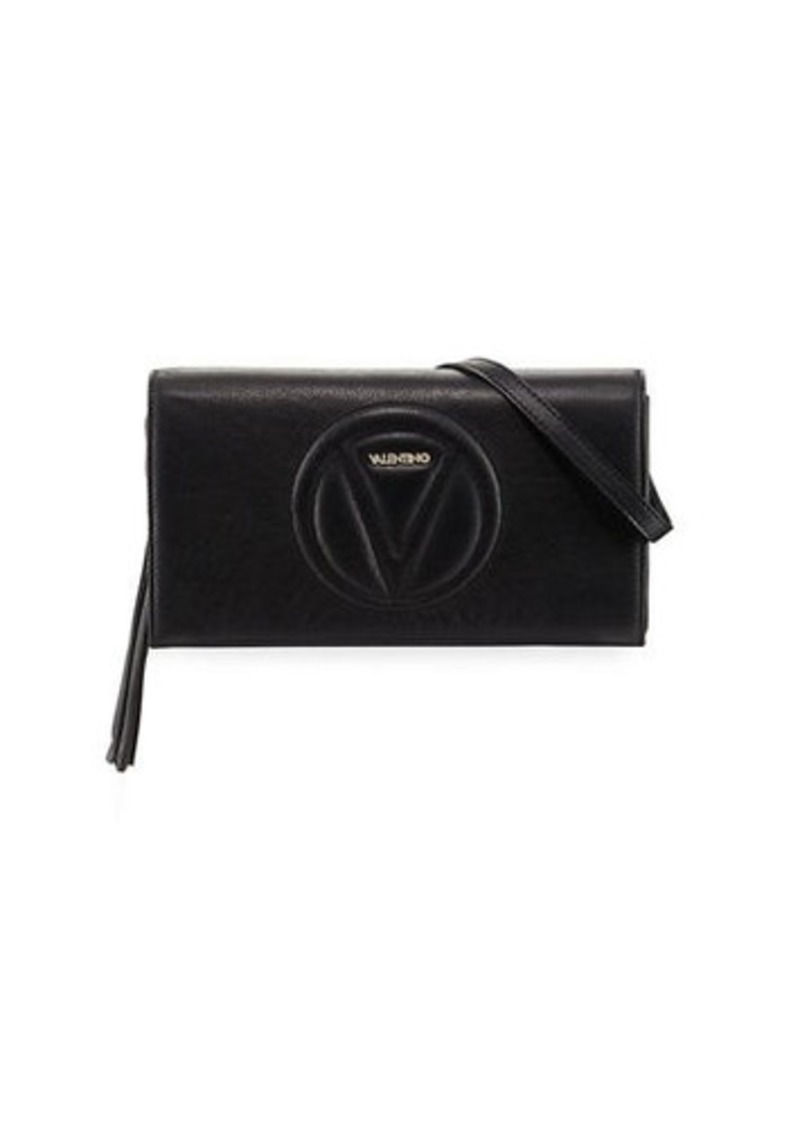 100% high quality fair price best supplier SALE! Valentino by Mario Valentino Valentino By Mario Valentino Lena  Sauvage Leather Clutch Bag
