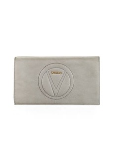 Valentino By Mario Valentino Lena Sauvage Leather Clutch Bag