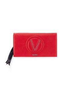 Valentino By Mario Valentino Lena Sauvage Two-Tone Clutch Bag