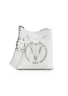 Valentino by Mario Valentino Leon Stud Leather Cinch Bag
