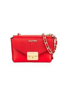 Valentino By Mario Valentino Lola Dollar Leather Shoulder Bag