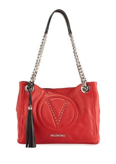 Valentino By Mario Valentino Luisa 2 Sauvage Leather Shoulder Bag