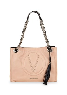 Valentino Luisa Leather Tote Bag