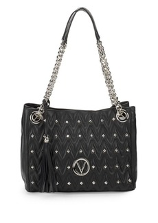 Valentino by Mario Valentino Luisa Studded Chain Shoulder Bag