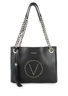 Valentino by Mario Valentino Luisa Studded Leather Tote Bag