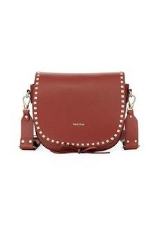 Valentino By Mario Valentino Maelle Pebbled Leather Crossbody Bag