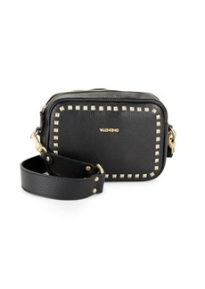Valentino by Mario Valentino Mia Studded Leather Crossbody Bag