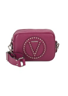Valentino Mia Studded Leather Shoulder Bag