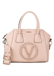 Valentino Mini Studded Leather Top Handle Bag
