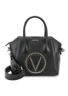 Valentino by Mario Valentino Minimi Studded Leather Tote Bag