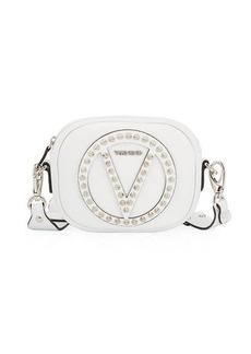 Valentino By Mario Valentino Nina Dollaro Studded Crossbody Bag