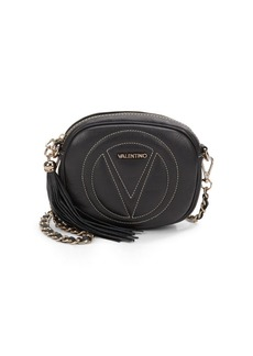 Valentino by Mario Valentino Nina Leather Crossbody Clutch