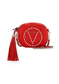 Valentino By Mario Valentino Nina Round Leather Crossbody Bag
