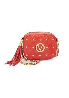 Valentino Nina Studded Leather Crossbody Bag