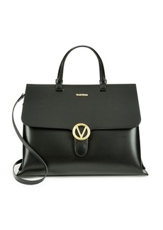 Valentino by Mario Valentino Olimpia Leather Satchel