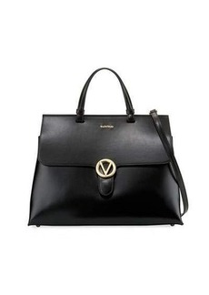 Valentino By Mario Valentino Olimpia Soave Leather Satchel Bag