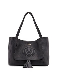 Valentino By Mario Valentino Ollie Dollaro Leather Tote Bag