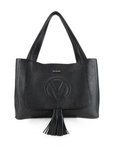 Valentino by Mario Valentino Ollie Dollaro Tasseled Leather Tote Bag