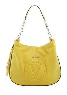 Valentino By Mario Valentino Penny Sauvage Leather Hobo Tote Bag
