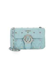 Valentino by Mario Valentino Poisoned Studded Leather Crossbody Bag