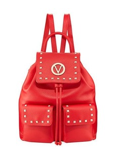 Valentino By Mario Valentino Simeon Studded Backpack