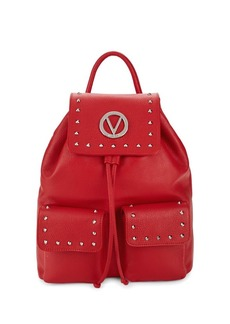 Valentino Simon Studded Leather Backpack