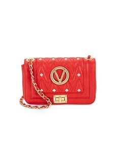 Valentino by Mario Valentino Studded Italian Leather Handbag