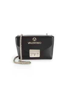Valentino by Mario Valentino Textured Leather Crossbody Bag