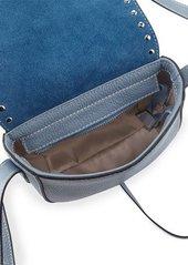 Valentino By Mario Valentino Thea Studded Leather Crossbody Bag