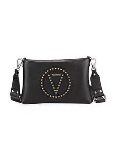 Valentino By Mario Valentino Vanille Rock Dollaro Stud Shoulder Bag