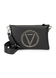 Valentino by Mario Valentino Vanille Rock Studded Leather Shoulder Bag
