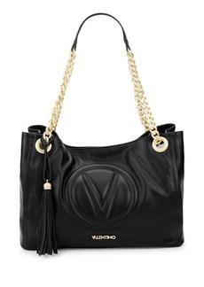 Valentino by Mario Valentino Vera Leather Shoulder Bag