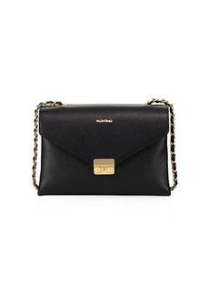 Valentino By Mario Valentino Vicky Dollaro Leather Shoulder Bag